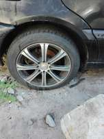 Universal rims with tyres 15 inch