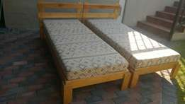 Pair Of Single Stackable Beds