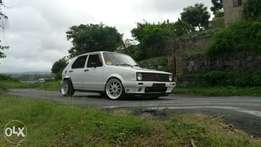 Golf 1 fully worked n very fast show car