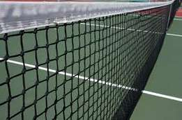 Tennis court nets for sale
