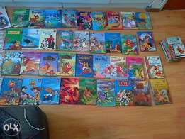 Disney collection story books.