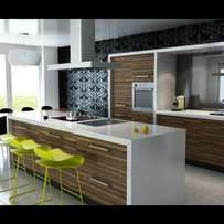 Superb cupboards and general construction