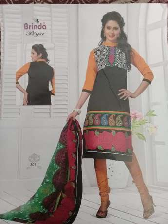 Brinda cotton salwar suit 3 pices Mombasa Island - image 7