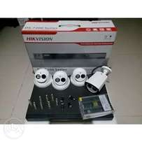 4 CCTV Security Cameras Kits Sale for your Business/Office