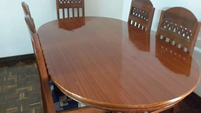 Dining Table 6 Seater Westlands - image 4
