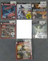 PS3 Games for Sale - All Still Sealed