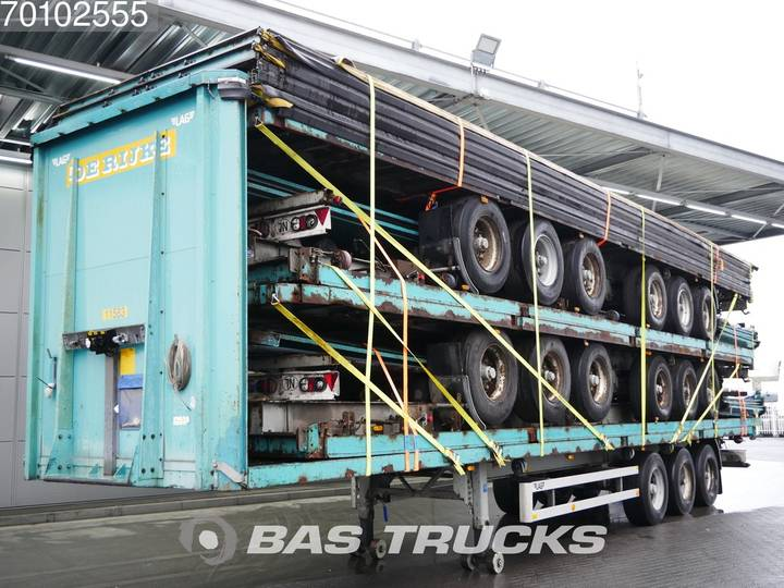 LAG 0-3-40 02 Stack of 5 Trailers BPW axles - 2005