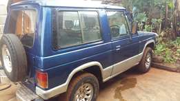Mitshbishi Pajero on sale , 4WD good for election campaigns