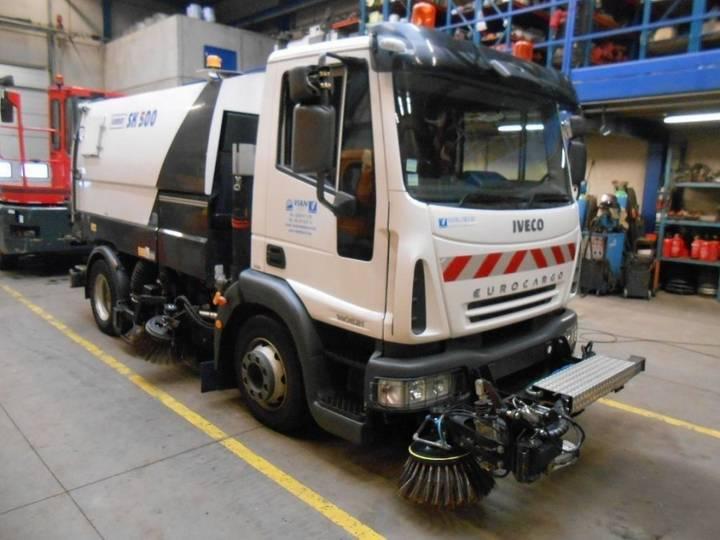 Iveco 120E21 EuroCargo + SCHMIDT SK500 Sweeper / Balayeuse / - 2006