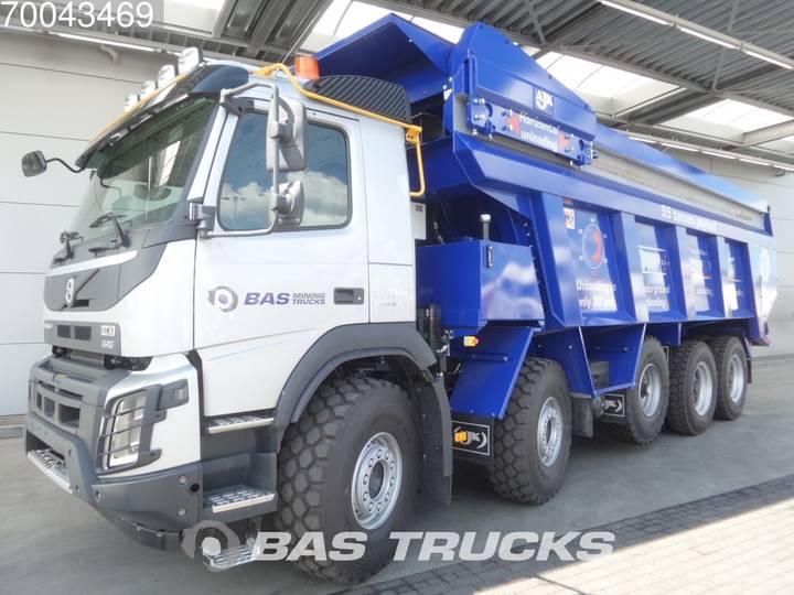 Volvo FMX 540 10X4 33 m³-Dumper-Pusher-55-Ton-Payload Euro 6 - 2016
