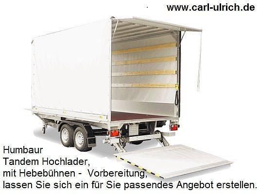 Humbaur HT354121 Hebebühnen-Anhänger Rohrzugdeichsel