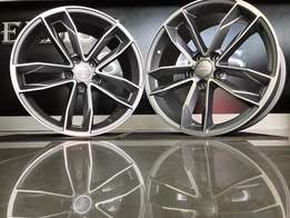 New Audi S5 S Line 18 inch mags!! Helmut Spares!!