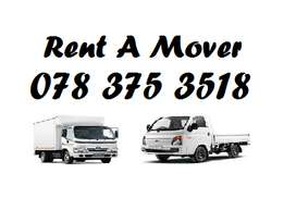 Furniture removals bakkie for hire