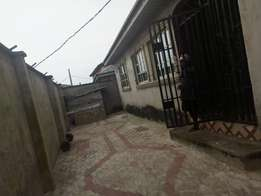 Clean Renovated Mini flat pop ceiling 2 tenant in compound at Baruwa