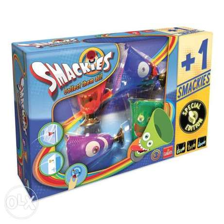 Smackies collect them all special edition