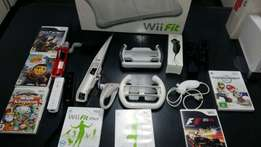 Wii with allot of extras