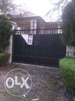 5Bedroom Detarched House with 2rooms BQ at Lekki Phase 1