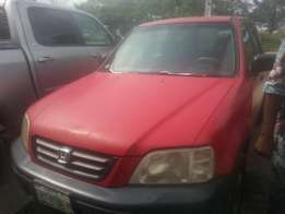 Perfectly used honda crv 2001 tincan cleared buy n travel