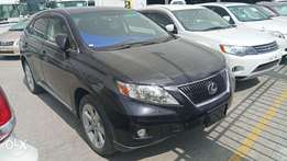 Black Lexus RX 270 with Sunroof 2010 model. KCP
