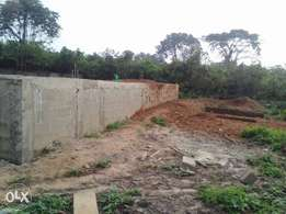 distress,urgent giveaway land 2 plots with foundation