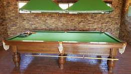 Union Billiards, American Full size Snooker Table