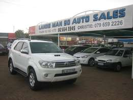 Toyota Fortuner 3 D4D 4x4 Manual