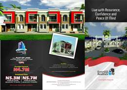 plot of land in an Estate in Lekki - Ajah 5M