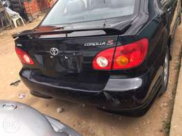 leather int 2004 Toyota Corolla toks
