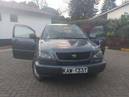 Toyota Harrier Leather Seats (lexus spec) great family car