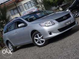 Toyota Fielder 2011 model silver colour excellent condition