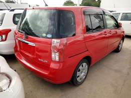 Toyota Raum Blood red color HP accepted