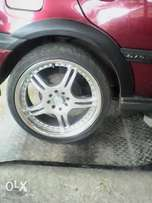17inch rims forsale without tyres