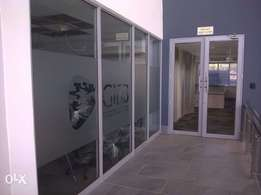 Elab projects glass partition