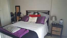 New double bed and headboard including 2 bedside units