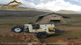 Hire A Fully Equipped Camping Trailer From R550 p/d - Jurgens XT140