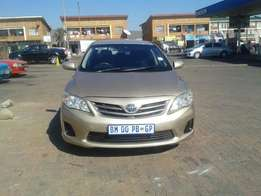 2010 Toyota Corolla 1.6Professional For Sale R100000 Is Available.