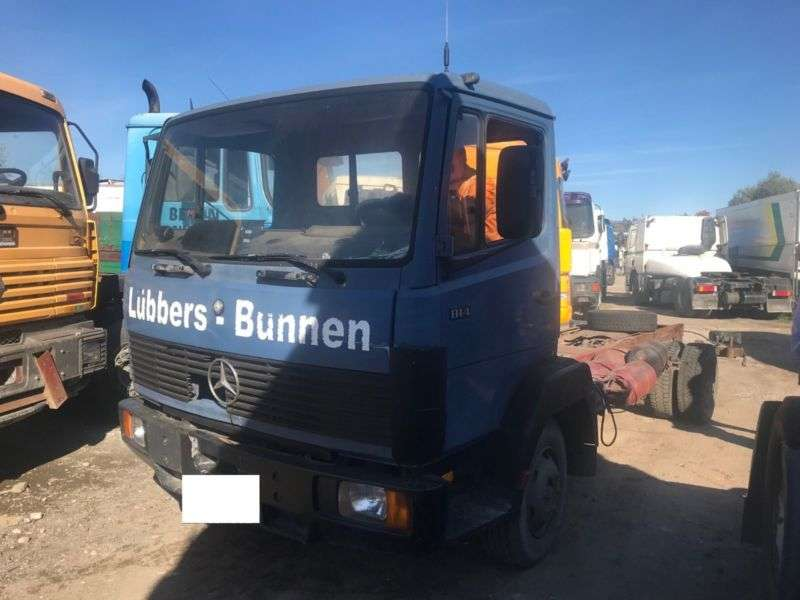 Mercedes-Benz 814.817.chassis.manual Full Spring.6 Cilinder - 1987
