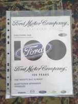 Ford Company 100 years: book