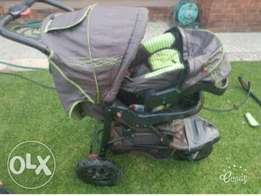 Chelino Pram and Fitted Chair