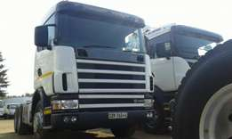 Scania R480 double diff truck on special