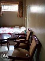 Fully furnished studio to let at yaya, kilimani