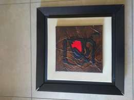 Original yoka wright abstract with valid certificate of authenticity