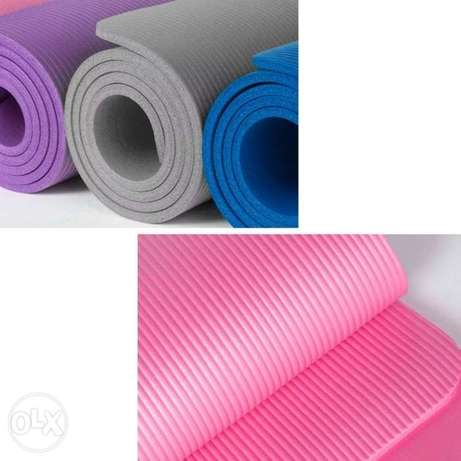 Purple. Pink new yoga mat 15MM for 145.000L.L