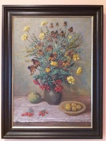 Unikalne T.Drozd 98 oryginalne obrazy martwa natura kwiaty dekoracja do KM26