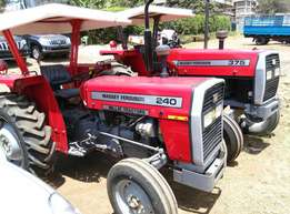 Brand new MF240 with 50 Horse Power,Perkins Engine,2 Disc Plough