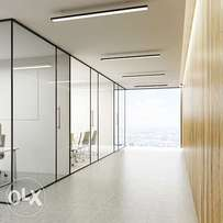 office partitions and all aluminum fabrications