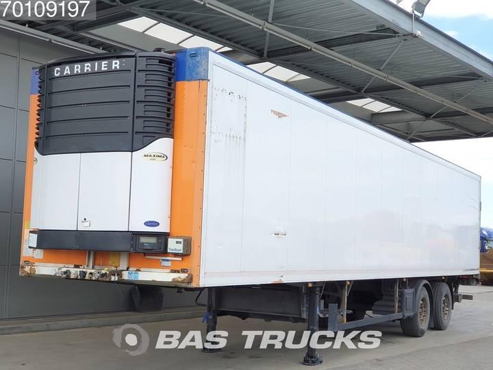 Schmitz Cargobull SKO 18 Carrier Maxima 1300 2 axles Lenkachse Ladebordwand... - 2007