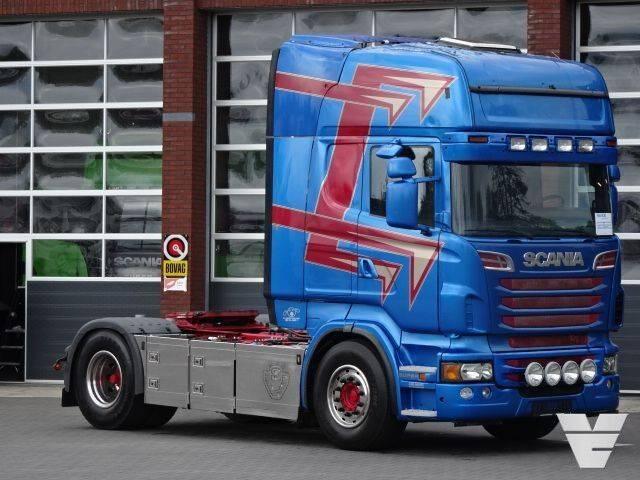 Scania R560 LA4x2MNA PTO-Tipperhydraulic - 2011