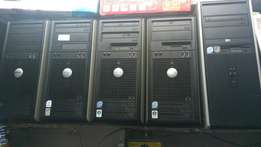 Dell core2 Duo Tower 2.6ghz/2gb ram/160gb hdd.latest at 5500