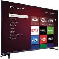 new brand 55 inch tcl smart tv ,youtube,google,wifi in cbd shop call